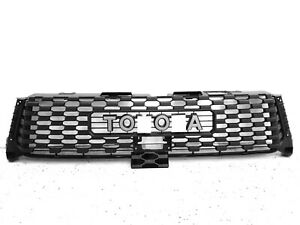 2014 2018 Toyota Tundra Trd Pro Black Grille With Buldge Brand New