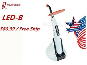 100 Original Woodpecker Dental Wireless Curing Light Led B Rechargeable Fda ce
