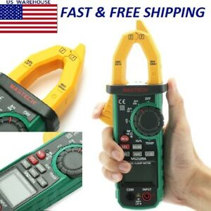 Lm3010 Auto Range Digital Ac Dc Clamp Meter Multimeter Volt Amp Ohm Hz Temp