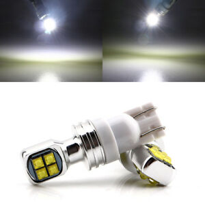 10pcs T10 W5w 2525 8smd Cree High Power Led Car White Light Reverse Tail Bulbs
