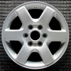 Ford Expedition All Silver W Raised Center Cap Lip 17 Inch Oem Wheel 2007 201