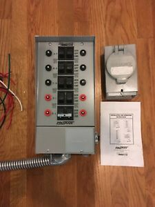 Reliance Controls 31410b Pro tran 10 circuit Indoor Transfer Switch