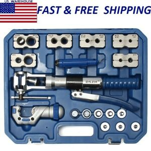 Wk 400 Hydraulic Pipe Expander Set Brake Pipe Fuel Line Flaring Tools Kit