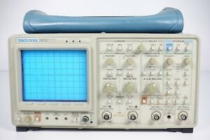 Tektronix 2432 Digital Oscilloscope 300 Mhz 2 Channels