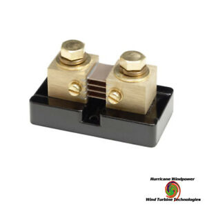Bogart 200a 50mv Dc Shunt For Current Monitoring Meters For Trimetric Meters