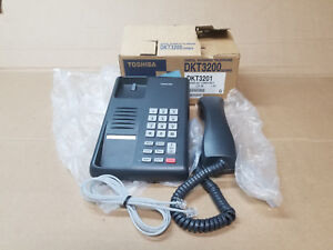 New Toshiba Dkt 3201 Single Linetelephone For Strata Systems 30 Day Warranty