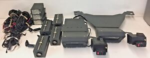 lot Of Watch Guard Video System Dash Cam Components