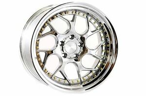 18x9 5 35 Aodhan Ds01 5x100 Vacuum Rims Fits Dodge Neon Srt4 Forester Outback
