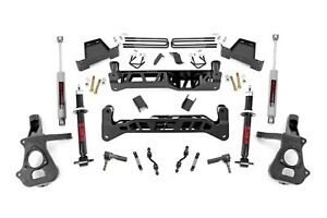 Rough Country Chevy Gmc 1500 Pickup 7 Suspension Lift W Lifted Struts 14 18 2wd