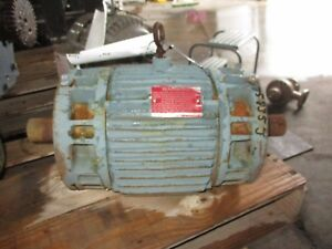 Reliance 1 5 Hp Double Shaft Motor 75935j Rpm 1755 Used