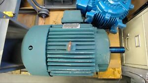 Reliance 20 Hp Ac Motor 460 Volts 1740 Rpm 4p 284t Frame 3 Phase 60 Hz