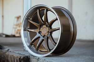 Aodhan Ds02 18x9 5 30 18x10 5 22 5x114 3 Bronze Is250 Supra Rx7 Gs300 Sc400