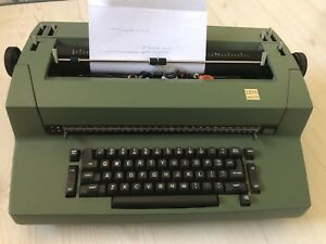 Ibm Correcting Selectric Ii Typewriter