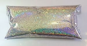 2oz Silver Holographic Metal Flake 015 Order 4 Oz Get 2oz Of Fire Red Free