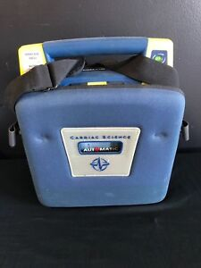 Cardiac Science Powerheart G3 Aed W New Battery New Adult Pad Case Warranty