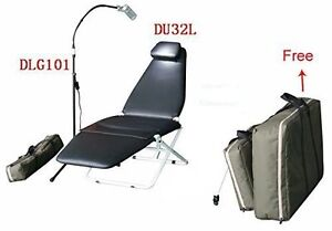 Dynamic Portable Foldable Chair exam Led Lamp Light nylon Bag doctor s Chair