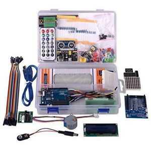 Learning Starter Kit For Arduino Uno_r3 Lcd1602 Servo Motor Ultimate Version