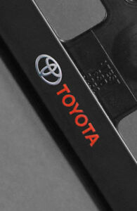 2 X Toyota Euro License Number Plate Frame Tag Holder