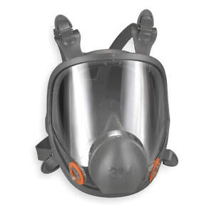 3m 6000 Low Maintenance Full Face Respirator Connection Type Bayonet Full Face