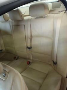 11 12 13 14 15 16 Bmw 535i Back Rear Bench Seat Leather Tan Lcdf