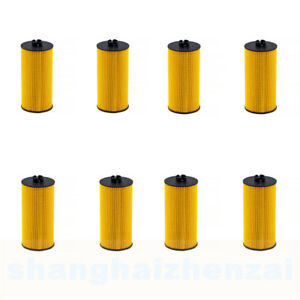 8pcs 6 0l 6 4l Powerstroke Diesel Ford Motorcraft Oil Filter Fl 2016 Replacement