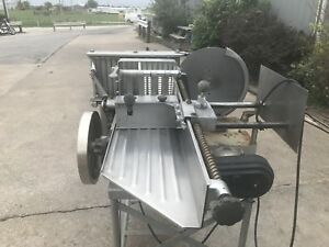 Berkel 180gs Automatic Meat Slicer Stacker Shingler W Conveyor Very Used