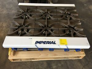 Imperial Range Ihpa 6 36 Commercial 36 Gas 6 Burner Hot Plate Counter Top Nsf