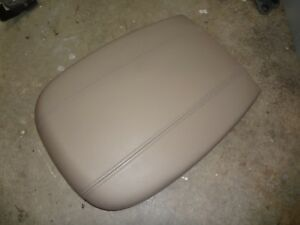 Ford Expedition Center Console Lid Arm Rest 97 02 Tan Navigator 16 5x12 Wide