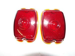 1940 1947 1948 1949 1950 1951 1952 1953 Chevy Truck Glass Tail Light Lens