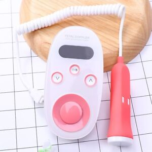 New 2 0mhz Digital Prenatal Fetal Heart Doppler Monitor Baby Heart Rate Detector