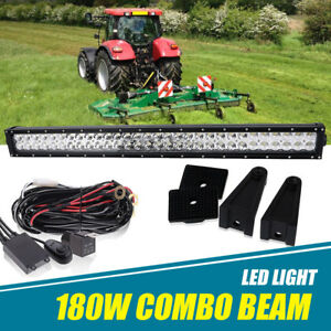 Bush Hog 2308 8 Rotary Mower Brush Cutter 30 32 Inch Led Light Bar Combo Beam