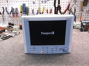 Datascope Passport 2 color W New Leads And New Batteries 30 Day Warranty