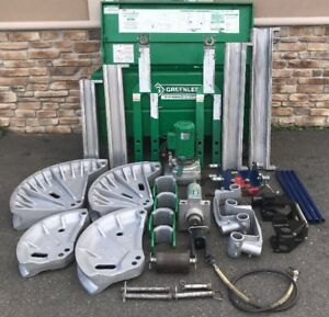 Greenlee 881ct Pipe Bender W 960 Hydraulic Pump Current Bending Table 881 5
