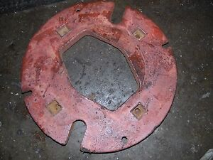 Farmall H Tractor Rear Wheel Weight
