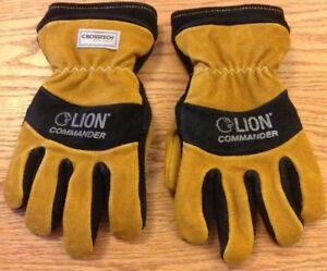 Brand New Lion Commander 2xl Fire Fighting Protective Gloves