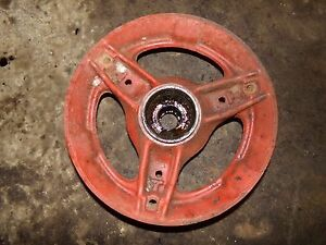 International Farmall Wd6 Tractor Front Wheel Hubs