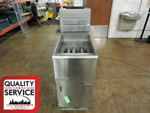 Pitco 40c Commercial Gas Fryer