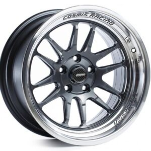 Cosmis Racing Xt206r 17x9 5 5x114 3 Gunmetal W Machined Lip set Of 4