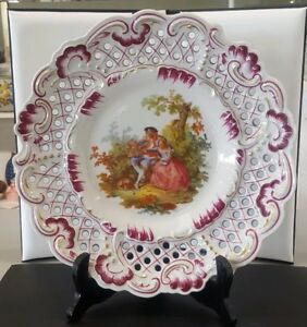 Porzellan Imperial Germany Bavaria Collector S Plate Cabinet Plate