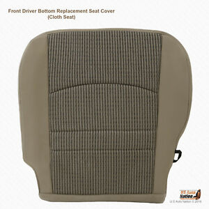 2010 2011 2012 Dodge Ram 3500 Slt Driver Bottom Replacement Fabric Seat Cover