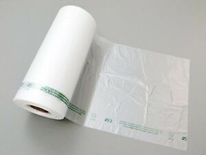 Plastic Produce Bags 4 Rolls 875 Bags roll 3500 Bags Clear Hdpe 11 Mic 0 44 Mil