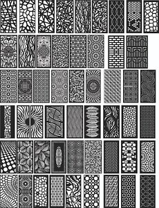 Dxf Of Laser Plasma Router Cut cnc Vector Dxf cdr Ai Art File 52 Items