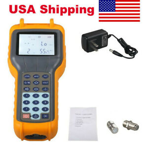 Us Ship Ry S110 Catv Cable Tv Handle Digital Signal Level Meter Db Best Tester