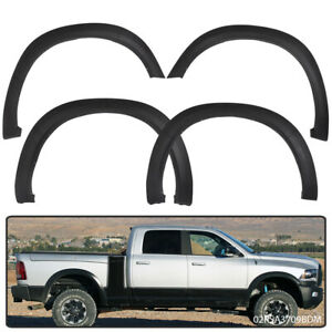 Textured For 09 18 Dodge Ram 1500 Factory Style Bolt On Fender Flares Smooth