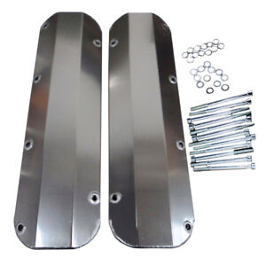 Valve Covers For Bb Ford 429 460 Fabricated Aluminum Tall 1 4 Billet Rail Bbf