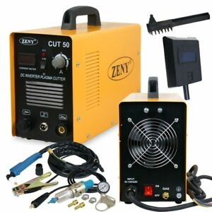 Plasma Cutter 50amp Cut 50 Digital Dc Inverter 110 220v Cutting Machine Bn