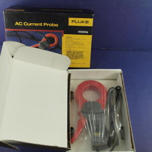 New Fluke I1000s Ac Current Probe Original Box