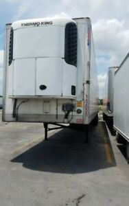 2010 Utility 53 Reefer Trailer W Thermo King Sb210 Unit 15555