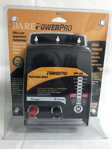 Dare Dpp 400 Dual Power Ac dc Electric Fence Energizer New