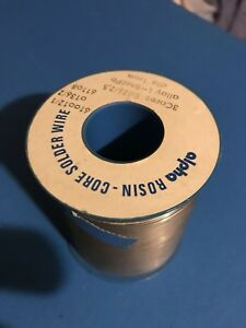 Alpha Rosin Core Solder Wire Sn60pb Dia 1mm 2 5 Flux